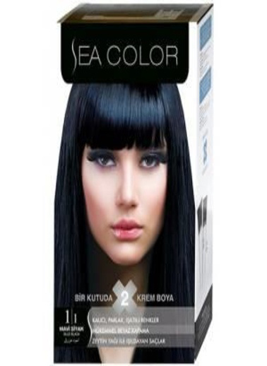 Sea Sea Color 2 Li Saç Boyası 1-1 Siyah